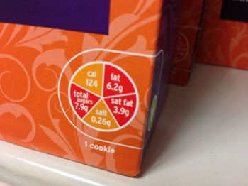 UK Nutritional Labelling Traffic Light by Health Gauge (Flickr)