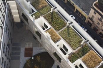 Tetti verdi - vista dall'alto