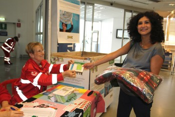Progetto Riscalda la notte con Croce Rossa Italiana