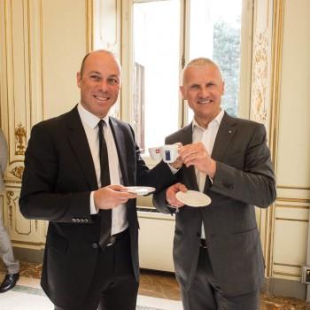 Riccardo Illy e Giuseppe Lavazza