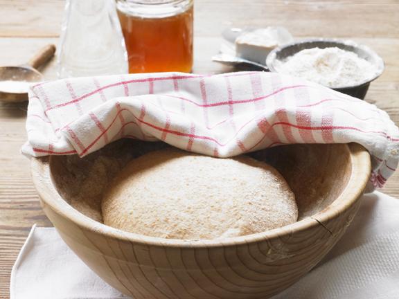 Pane fatto con grano kamut