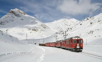 Trenino del Bernina Patrimonio Mondiale Unesco Mobilità urbana sostenibile mobilità dolce Giornata delle Ferrovie abbandonate Ferrovie abbandonate Co.Mo.Do.