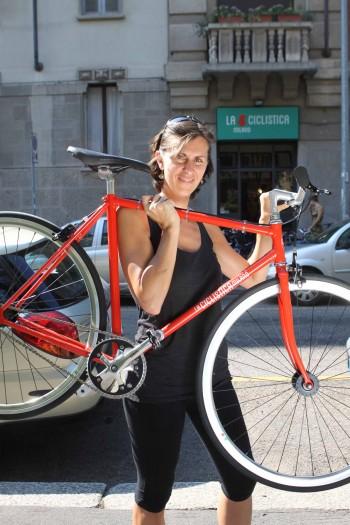 Movimentolento mobilità sostenibile mobilità dolce Cristina Favento biker bicicletta
