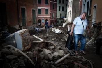 30 Oct 2011, Vernazza, Cinque Terre - Image by © Federico Scoppa / Demotix/Demotix/Demotix/Corbis