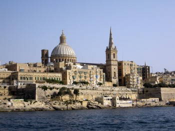 Veduta di La Valletta, foto Cabanillas/Flickr