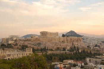 Veduta dell'Acropoli di Atene, foto RobW_/Flickr