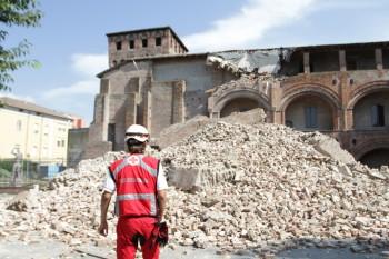 Terremoto Emilia 2012, foto di Michele Novaga