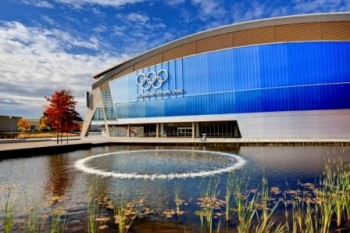 The Richmond Olympic Oval --- Image by © Ron Watts/Corbis