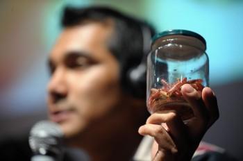 Irad Santacruz Ariniega, fiduciario della condotta Slow Food Tlaxcala Malintzi