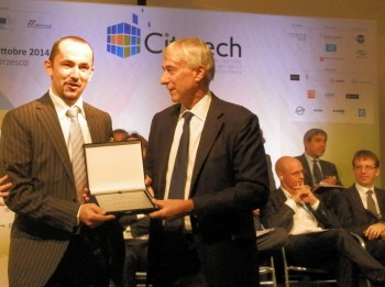 Premiazione Superhub a Citiytech Milano 2014