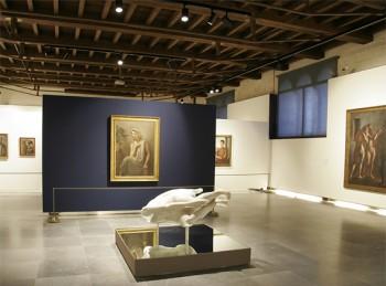 Installazione curata da Forcolini alla Galleria d'arte moderna di Verona