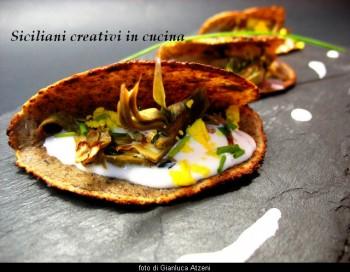 Crepes ai carciofi by Siciliani creativi in cucina
