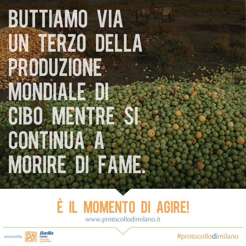 Worldwatch Institute spreco alimentare Protocollo di Milano obesità land grabbing Gary Gardner Franco Sassi fame biodiversità BCFN Forum 2014