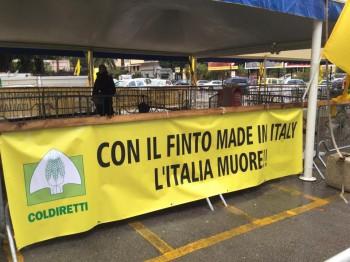 Striscione esposto a Palermo