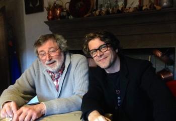 Franceso Guccini e Samuele Bersani