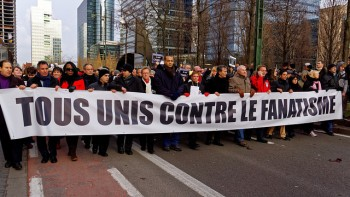 Manifestazione contro il fanatismo