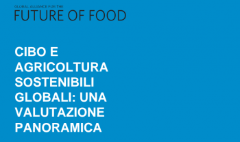 sostenibilità Responsabilità Sociale d'Impresa Programma Ager impatto ambientale Global Alliance for the future of food food policy Fondazione Cariplo Fondation Agropolis