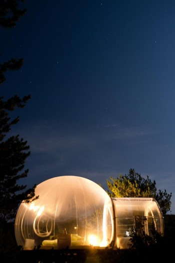 Bulle_Zen_by_night_Forcalquier