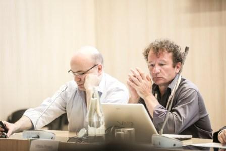 Vittorio Rinaldi al SEWF2015 (a destra)