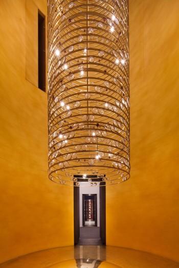 Viabizzuno silos Salone del mobile risparmio energetico materiali ecocompatibili light design lampadina cibo
