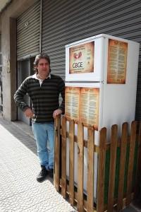 recupero cibo nevera solidaria GBCE Galdakao frigorifero solidale donazione del cibo invenduto