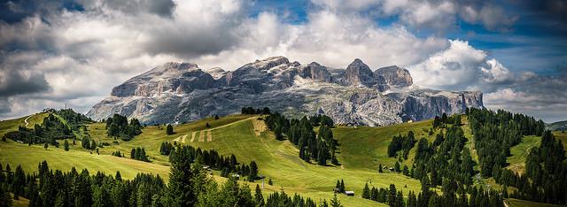 Gruppo del Sella - Foto Flickr by Giuseppe Milo