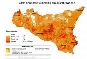 Desertificazione Sicilia (Immagine Regione Sicilia)