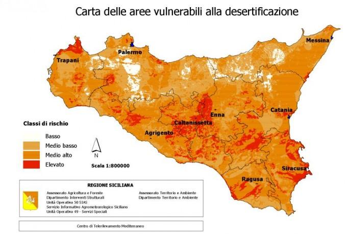 Desertificazione in Sicilia