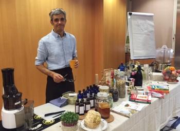 Il biobarman Marco Dalboni (Foto Mariella Caruso)