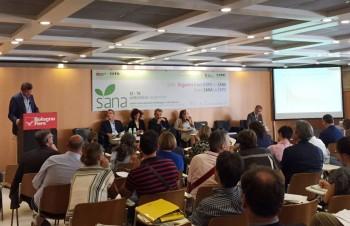 sana2015 paniere tipo ISMEA export carrello della spesa biologico agricoltura biologica