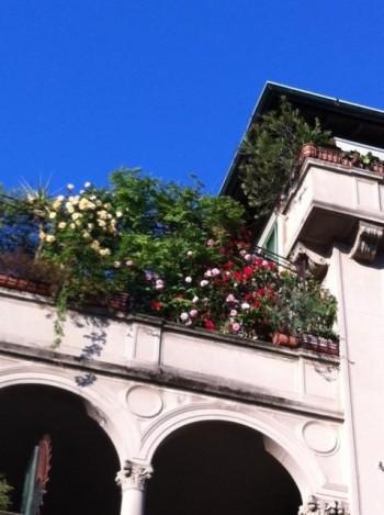 Il balcone premiato dal concorso FuoriBalcone