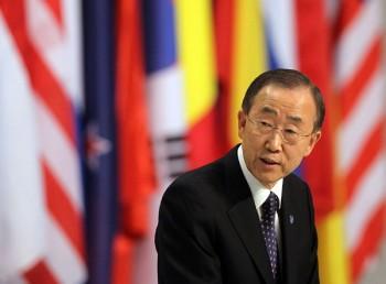 Il segretario generale delle Nazioni Unite Ban Ki-moon/iStock