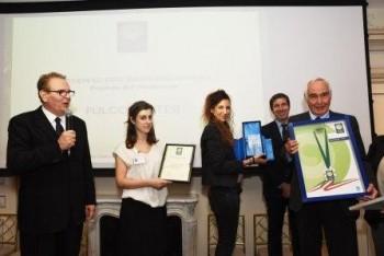 Premio ad honorem Green Globe Banking a Fulvio Pratesi