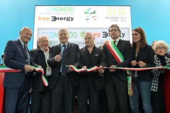 Inaugurazione EcoMondo (Foto Rimini Fiera)