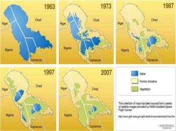 Come sta cambiando il Ciad (foto Cnr)