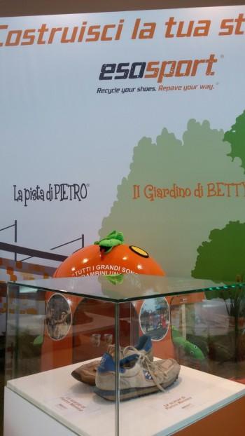 rifiuti riciclo Pista di Pietro Nicolas Meletiou materia seconda Manuela Olivieri Mennea giardini di betty Esosport economia circolare