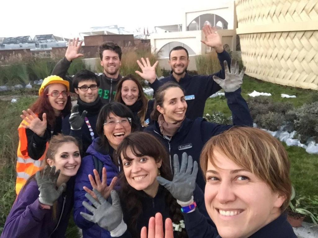 Il gruppo di volontari che salvano gli alberi di Expo
