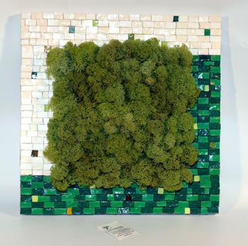 Composizione in lichene stabilizzato