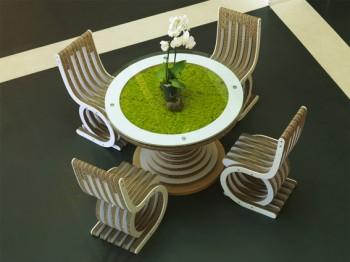 tetti verdi stili di vita eco sostenibili rispetto ambientale risparmio energetico modularità modi di abitare materiali naturali legno Legambiente giardini pensili energie rinnovabili ecosostenibilità Ecomondo ecodesign consapevolezza ambientale compatibilità cartone ondulato C2C