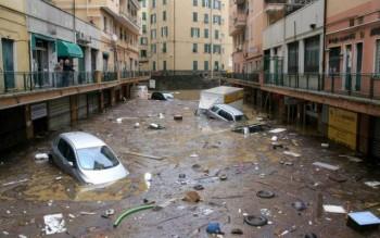 Genova città a rischio idrogeologico