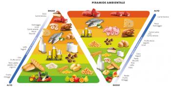 tutela del suolo piramide alimentare nutrizionale globale impronta idrica impatto ambientale Fao emissioni di gas serra doppia piramide dieta sostenibile consumo di carne Barilla Center for Food & Nutrition