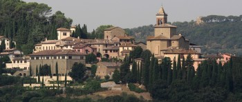 Lo splendido Borgo di Solomeo dove ha sede la Brunello Cucinelli, Foto: www.solomeo.it