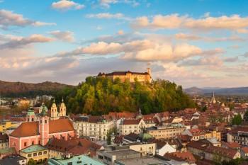 Panorama di Lubiana capitale verde, foto: Ljubljana-Tourism