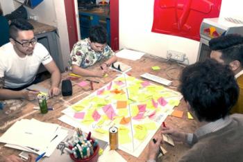 Design al lavoro (foto Fuorisalone)