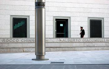 Il monumento di arnaldo pomodoro ai caduti contro la mafia di Palermo, Foto Giulio Nepi