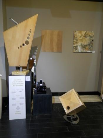 Il legno di recupero per opere sonore
