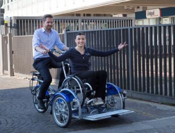 velostazione Dynamo Bologna Protec Ambiente mobilità green Luca Breccia disabilità disabili bicicletta Aspasso Alberto Franceschini
