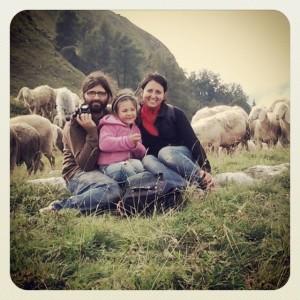 Piero, Anna e Gaia