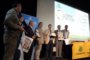 La premiazione dei Comuni ricicloni 2016