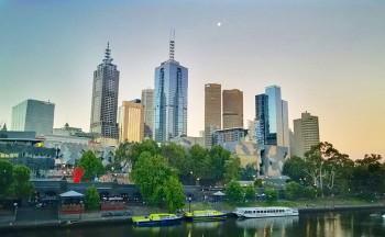 Il verde e lo skyline di Melbourne, Flickr
